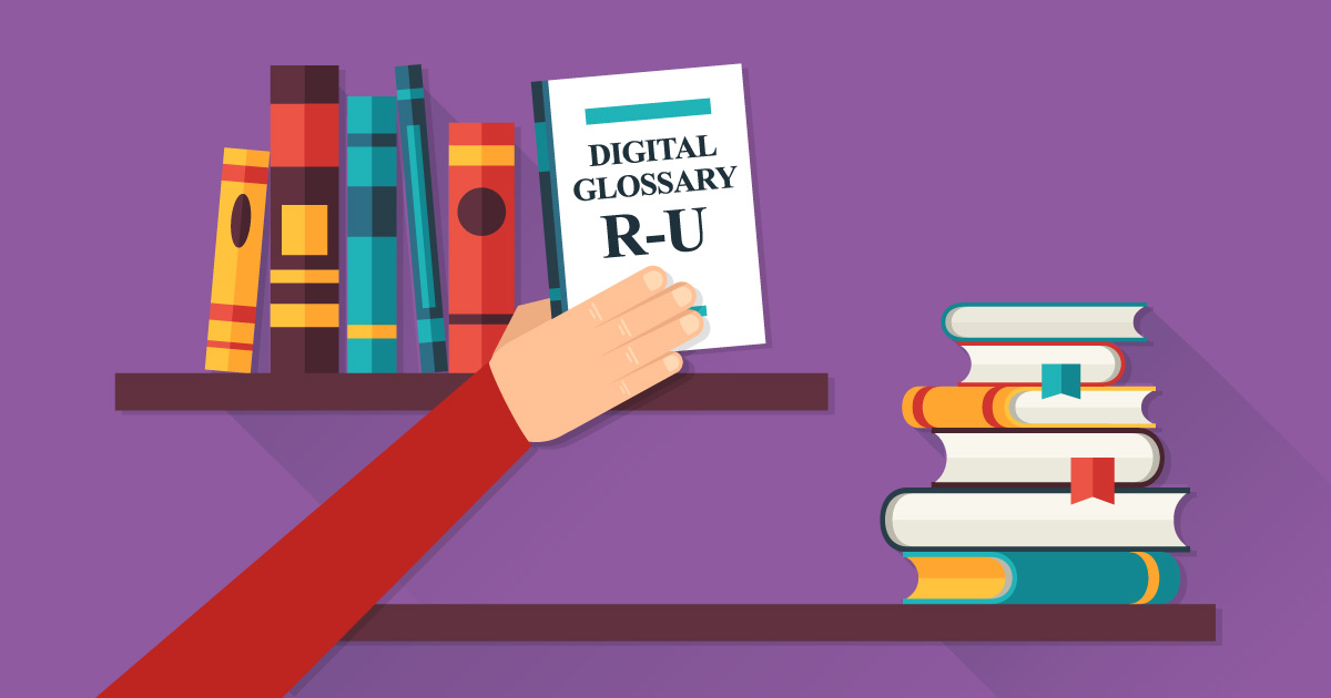 Online Marketing Glossary: R - U