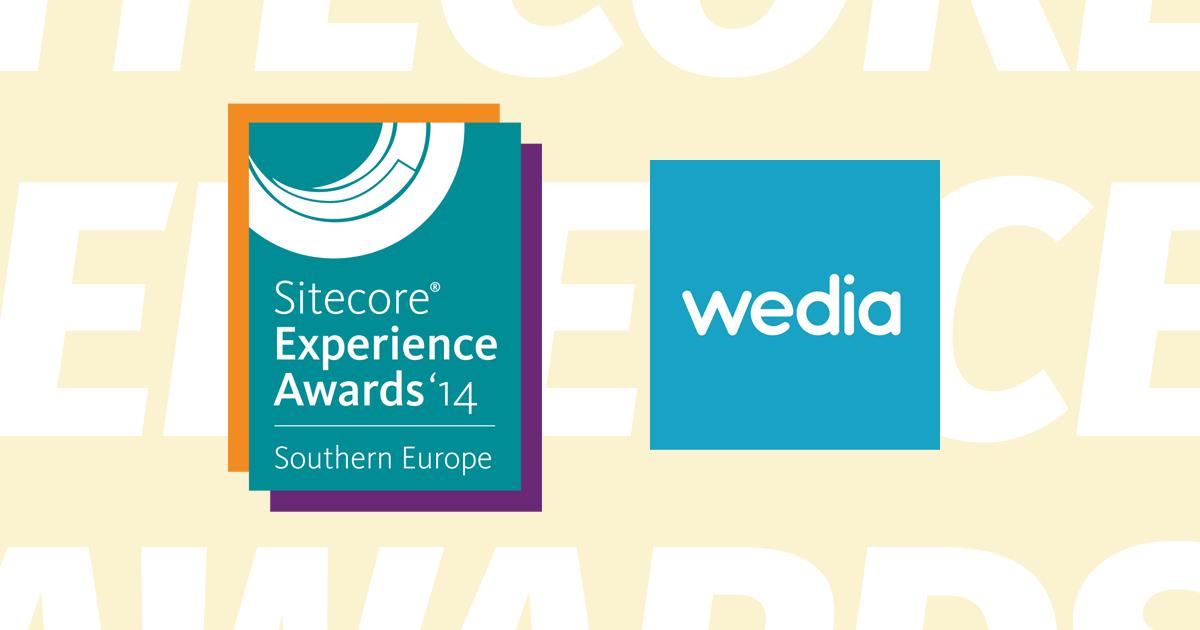 2 Sitecore Experience Awards για τη Wedia!