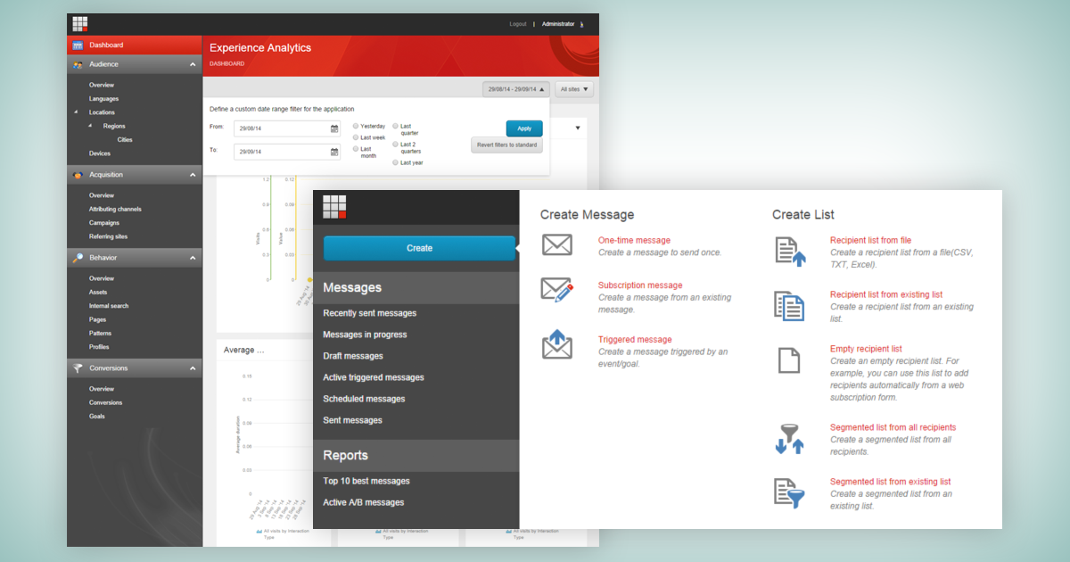 Sitecore 8 Features - Dashboard