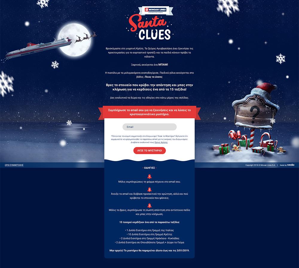 wedia-Santa-Clues-Landing-Page