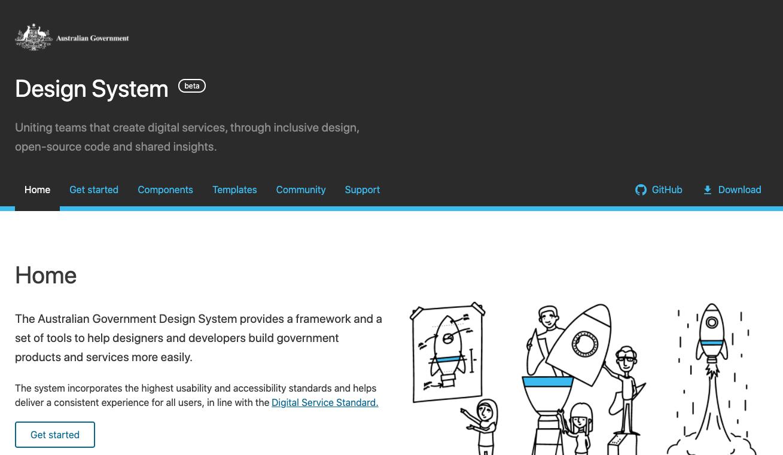 design system, web design