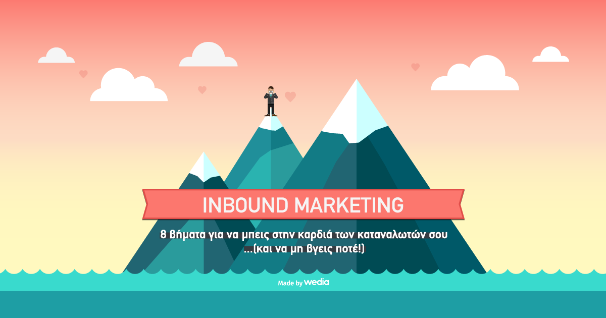 Το Ιnbound Μarketing… made by wedia [Infographic]