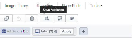Διαφήμιση Facebook - Δημιουργία Saved Audience από υπάρχον ad set