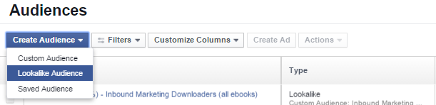 Διαφήμιση facebook  - lookalike audiences
