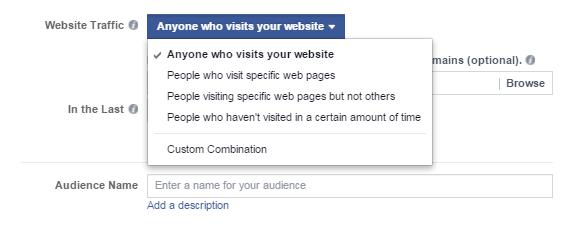 Διαφήμιση facebook  - χρησιμοποιήστε το remarketing pixel