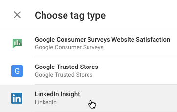 LinkedIn Insight Tag με Google Tag Manager