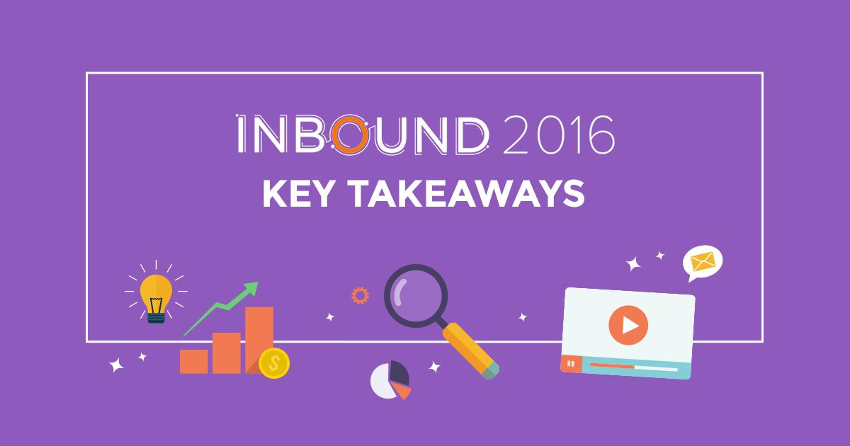 INBOUND16 Key Takeaways: Τι μας επιφυλάσσει το μέλλον;