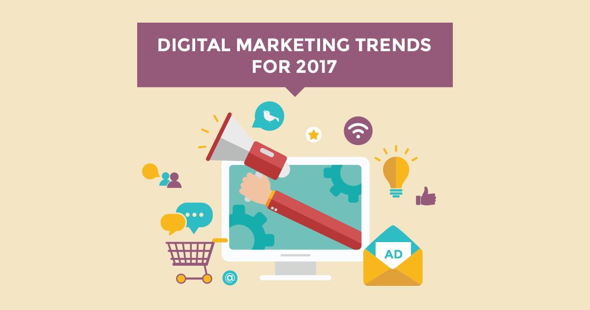 8 marketing trends που δεν πρέπει να αγνοήσετε το 2017!
