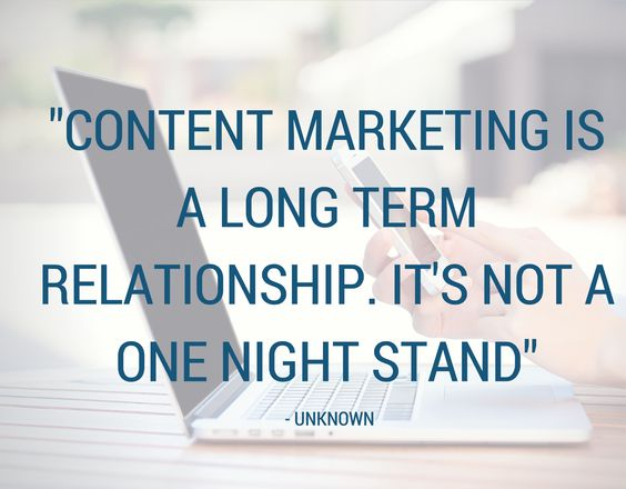 quote for content marketing