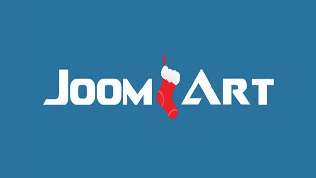 Χριστουγεννιάτικο logo του site Joomlart