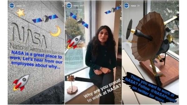 Instagram Stories behind the scenes tactic