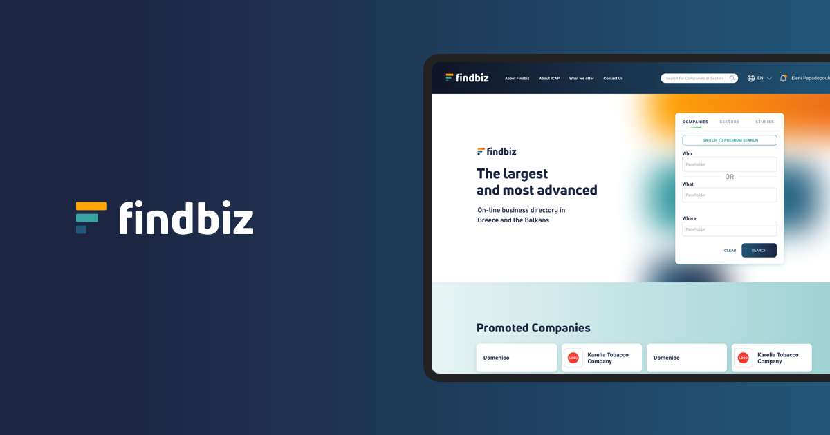 FindBiz redesigned by Wedia