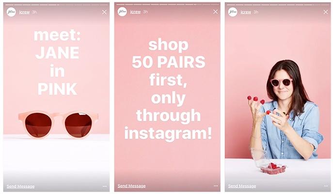 Instagram Stories offers tactic