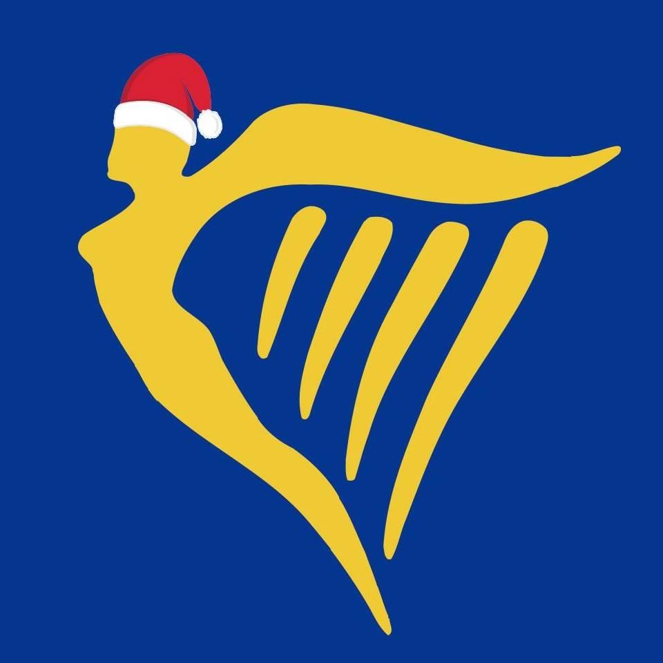 Παράδειγμα διαμόρφωσης λογοτύπου για τα Χριστούγεννα από τη Ryanair