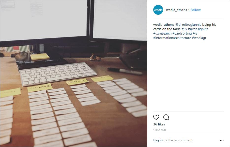 Social post Behind the Scenes