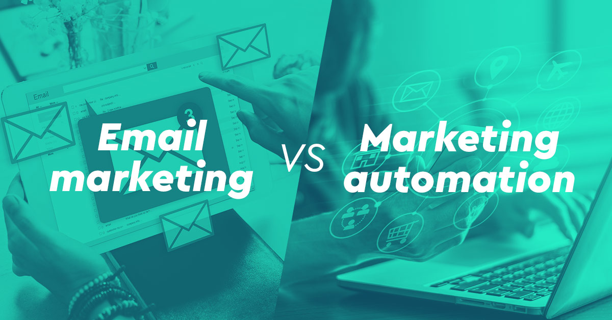 Ποια η διαφορά μεταξύ email marketing και marketing automation;
