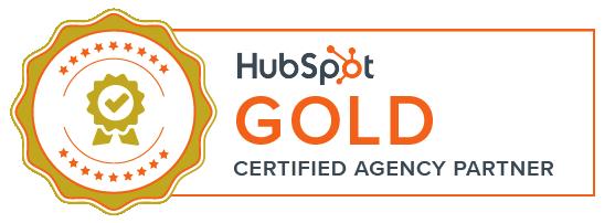 Wedia Hubspot Gold Banner