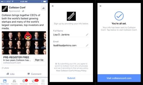 Διαφήμιση στο Facebook Lead Generation