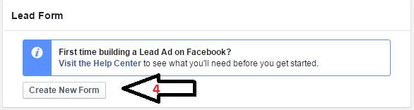 Διαφήμιση στο Facebook Lead Form
