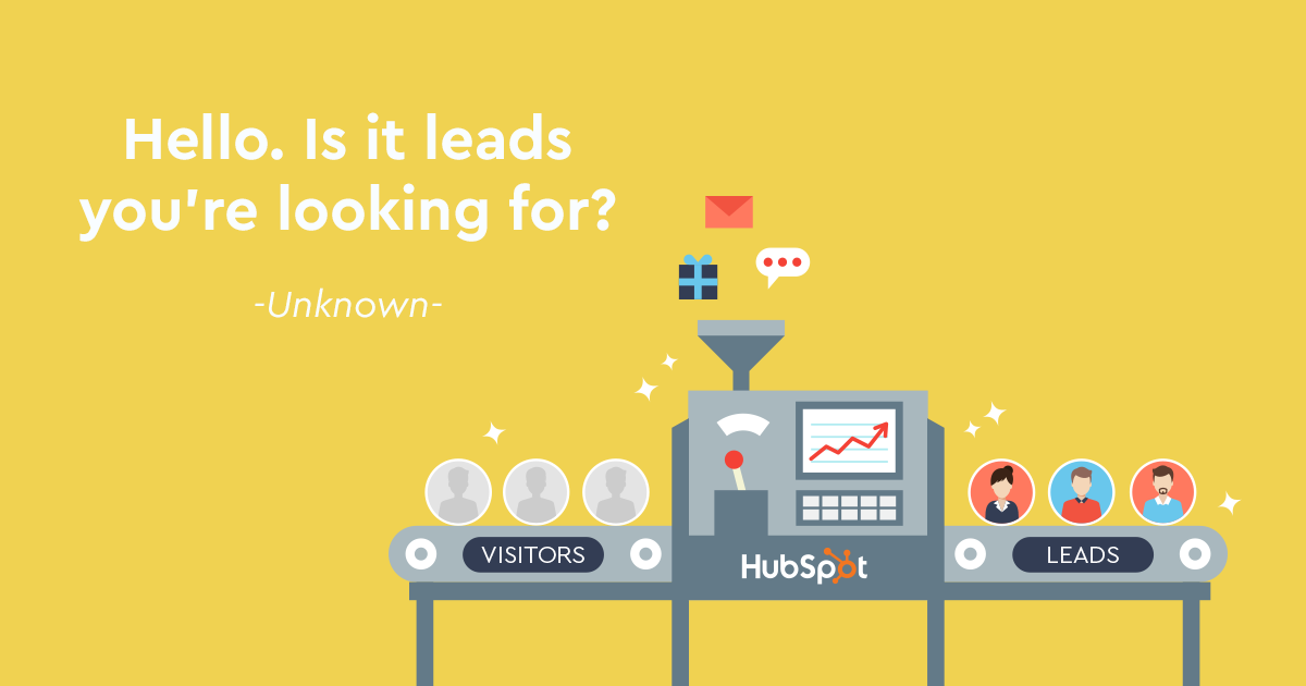Lead generation για B2B; Κάντε το απλά με Inbound Marketing & HubSpot!