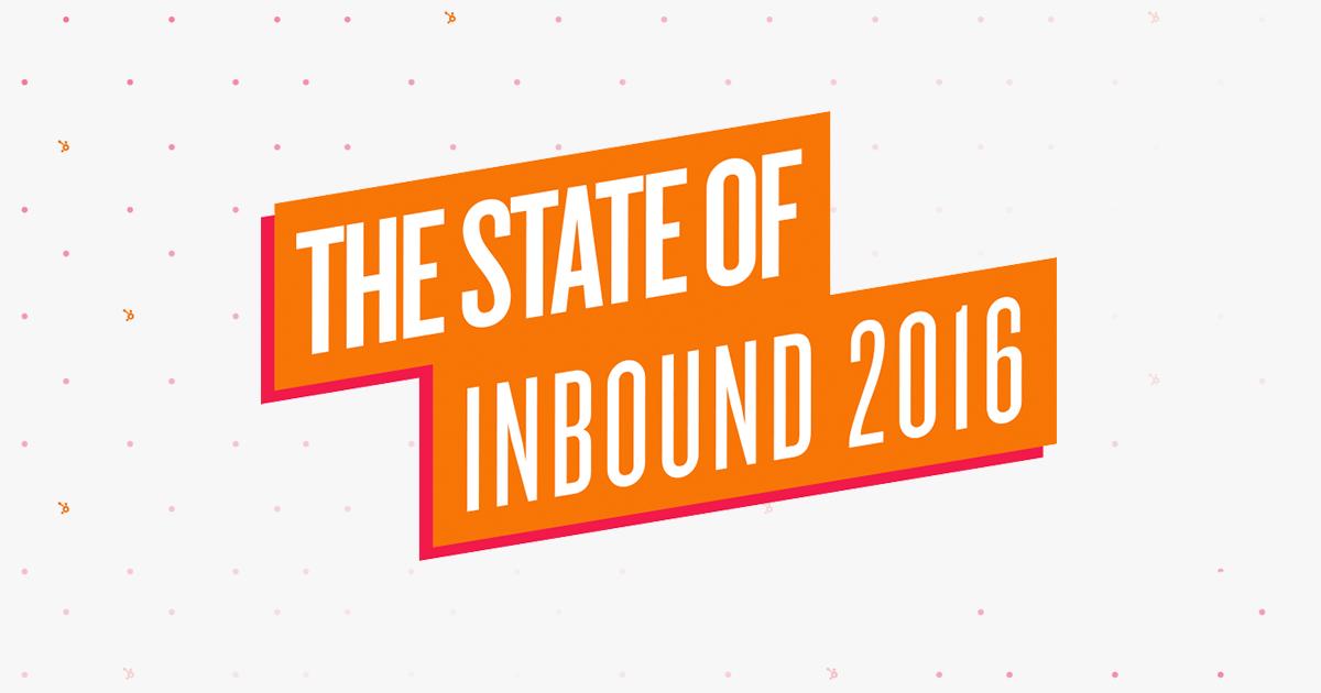 State of Inbound 2016: 5 απαραίτητα στατιστικά στοιχεία!