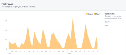 facebook marketing insights post reach