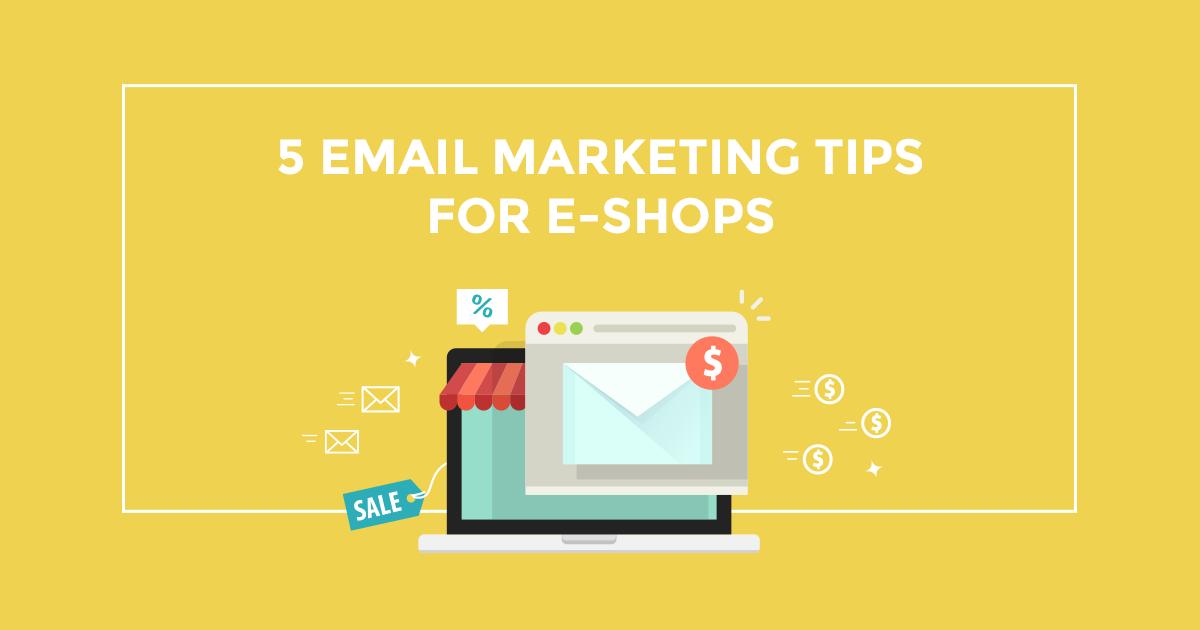 5 email marketing tips για e-shops που διανύουν περίοδο εκπτώσεων!